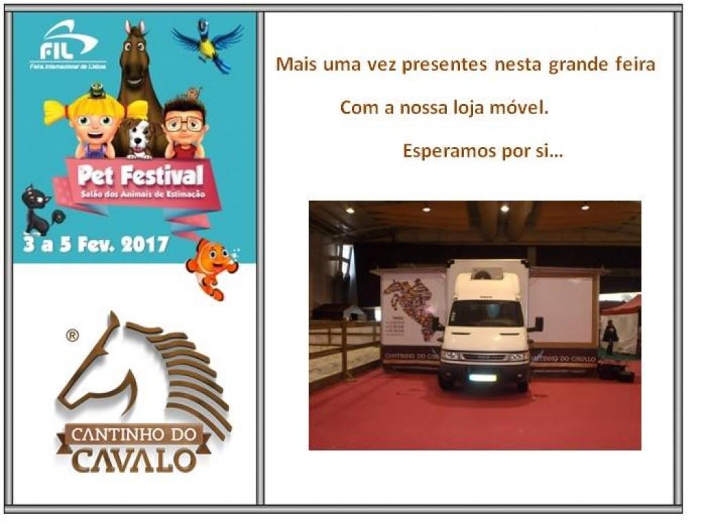 Pet Festival 2017 3 a 5 de Fevereiro na FIL - Lisboa