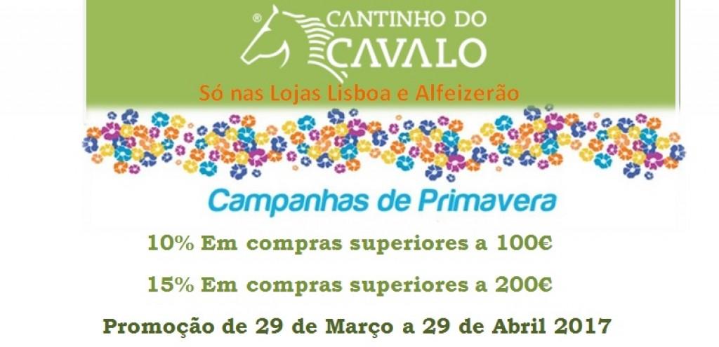 Campanha Primavera  Lisboa e Alfeizerão de 29 de Março a 29 Abril
