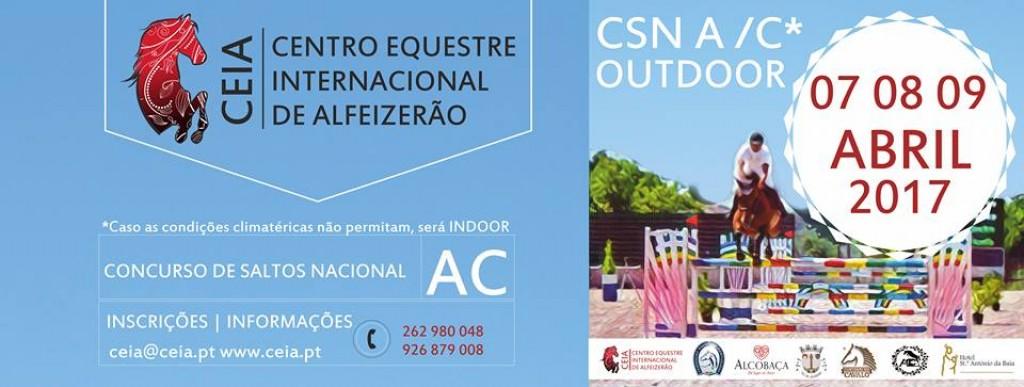 Concurso Alfeizerão CSN A/ C de 7 a 9 de Abril 2017