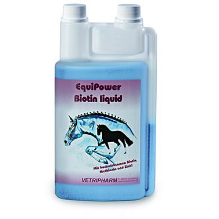 Biotin Liquid, Equipower 1000ml