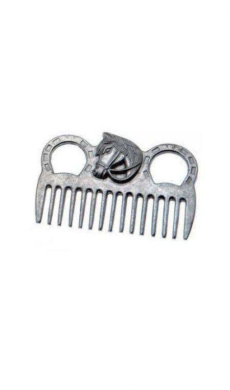 Pente de Aluminio c/cabo cab.cavalo